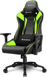 Spēļu krēsls Sharkoon Elbrus 3 Black/Green