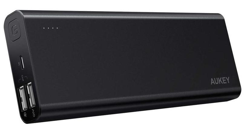Ārējs akumulators Aukey PB-AT20 Black, 20100 mAh