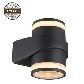 Lampa Domoletti Effection ELED-635, 2 gab., 6W, led, IP54, melna
