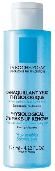 Kosmētikas noņemšanas līdzeklis La Roche-Posay Physiological Eye Make-Up Remover, 125 ml