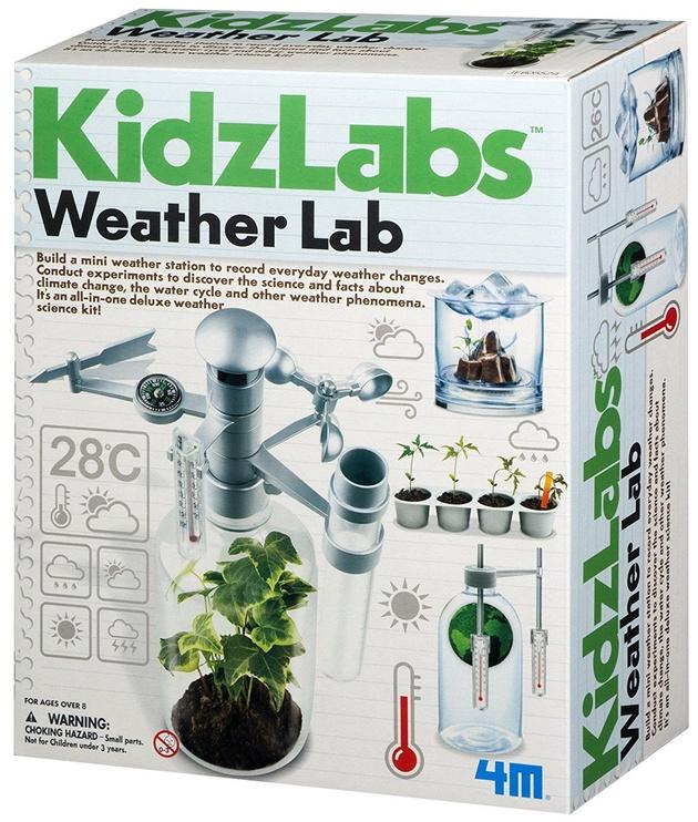 Intelektuāla rotaļlieta 4M KidzLabs Weather Lab 5527