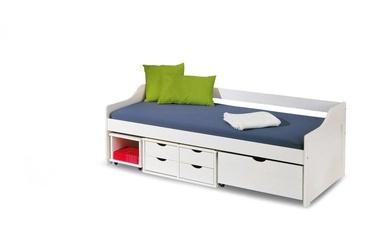 Детская кровать Halmar Floro 2 White, 209x96 см