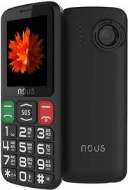 Мобильный телефон Nous NS2415, черный, 32MB/32MB