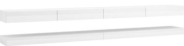 ТВ стол Vivaldi Meble Fly Double, белый, 2800x340x450 мм