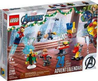 Конструктор LEGO Marvel Новогодний календарь «Мстители» 76196, 298 шт.