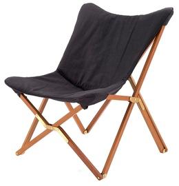Atzveltnes krēsls Halmar Volant Dark Grey, 76x83x97 cm