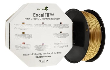 Voltivo PLA Filament Cartridge 2.85mm Gold