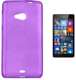Forcell Jelly Brush Back Case For Microsoft 535 Lumia Violet
