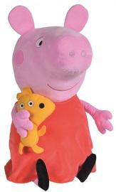 Mīkstā rotaļlieta Simba Peppa Pig 746733, sarkana/rozā, 50 cm