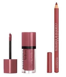 BOURJOIS Paris Rouge Edition Velvet 7.7ml 07 + Contour Lip Liner 1.14g 01