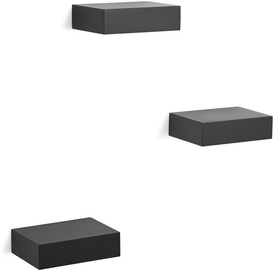 Umbra Show Case Shelf Black 3pcs