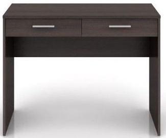 Письменный стол Black Red White Nepo Plus BIU2S, коричневый