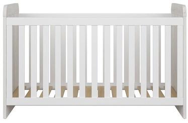 Детская кровать Black Red White Luca White, 145x76 см