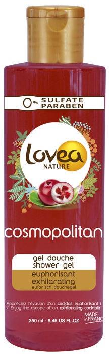 Dušas želeja Lovea Cosmopolitan, 250 ml