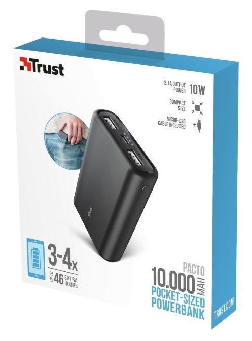 Trust Pacto HD Pocket-sized Powerbank 10000mAh