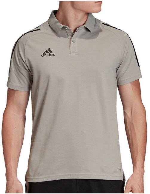 Adidas Mens Condivo 20 Polo Shirt ED9247 Grey M
