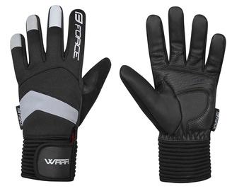 Cimdi Force Warm Winter Full Gloves Black M