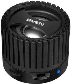 Bezvadu skaļrunis Sven PS-40BL Black, 3 W