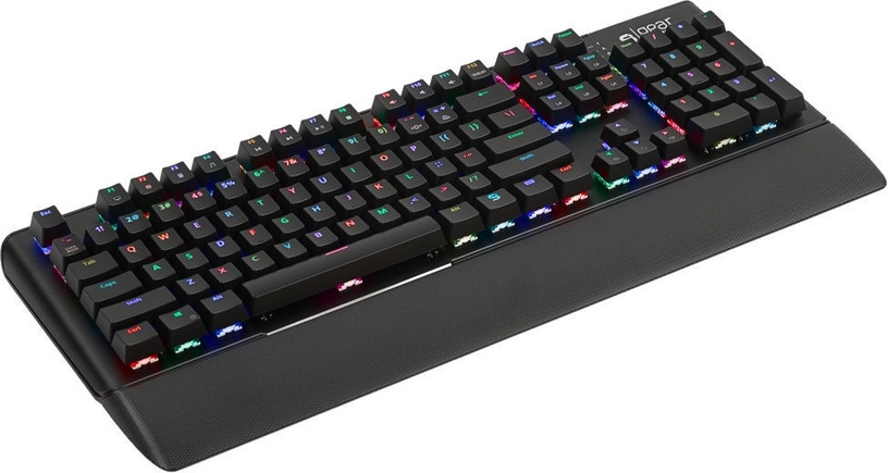 SilentiumPC SPCgear GK-550 Mechanical Gaming Keyboard Kailh Red Black EN
