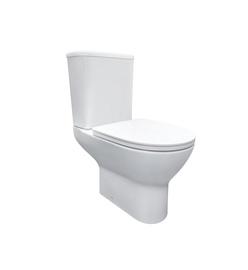 Туалет Domoletti, с крышкой, 390 мм x 635 мм