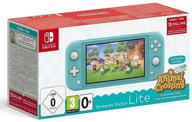 Nintendo Switch Lite Turquoise + Animal Crossing: New Horizons