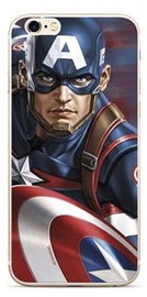 Marvel Captain America Back Case For Huawei P30 Multicolored