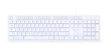 Gembird UML3-01 Multimedia Keyboard RU White