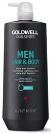 Šampūns Goldwell Dualsenses For Men Hair & Body, 1000 ml