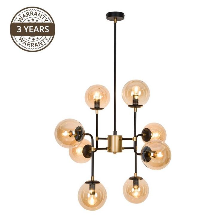 Gaismeklis Domoletti Alisa P17242-8 Ceiling Lamp 8x40W E14