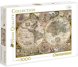 Puzle Clementoni Old Map HQC 33531, 3000 gab.