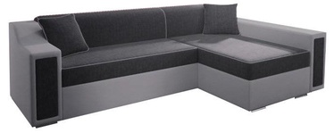 Угловой диван Idzczak Meble Milton Mini Bahama 35/31 Gray, 282 x 160 x 77 см