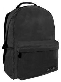 Рюкзак Must Monochrome 2 Compartments Ripstop Black