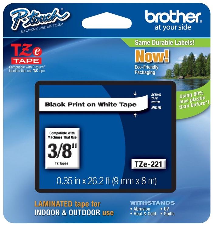 Этикет-лента для принтеров Brother TZ-E221, 800 см