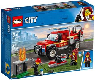 Konstruktors LEGO® City 60231 Ugunsdzēsēju komandieres ātrās reaģēšanas auto
