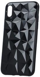 Mocco Trendy Diamonds Back Case For Xiaomi Redmi Note 4/4X Black