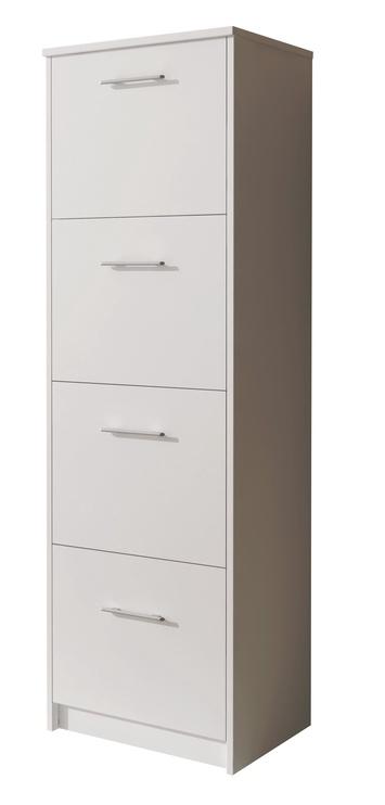 Apavu plaukts Idzczak Meble 6 White, 500x290x1550 mm