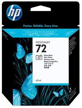 HP 72 Photo DesignJet Ink Cartridge Black