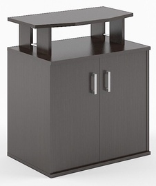 Skyland Simple B450 Office Shelf 90х60х104.5cm Wenge Magic