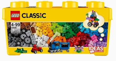 Конструктор LEGO Classic Набор для творчества среднего размера 10696, 484 шт.