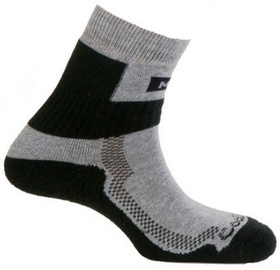 Zeķes Mund Socks Nordic Walking Black, XL, 1 gab.