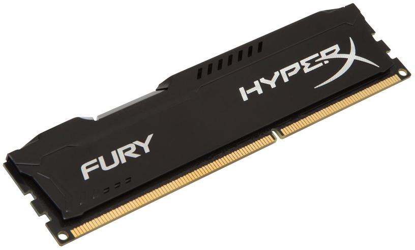 Operatīvā atmiņa (RAM) Kingston HyperX Fury Black Series HX318C10FB/8 DDR3 (RAM) 8 GB CL10 1866 MHz