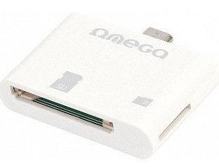Omega Card Reader Micro USB White