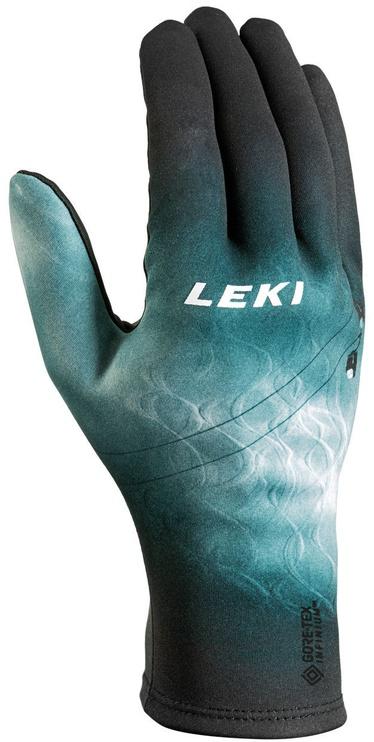 Перчатки Leki Universe GTX Infinium Universe Snow, синий/черный, 9