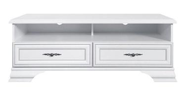 ТВ стол Black Red White Idento, белый, 1245x535x470 мм