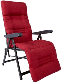 Home4you Cervino Lounger Red