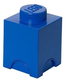 Конструктор LEGO Storage Brick 1 Knob Blue