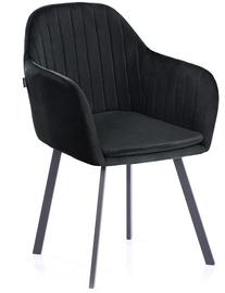 Ēdamistabas krēsls Homede, melna