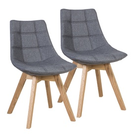 Ēdamistabas krēsls Home4you Grey
