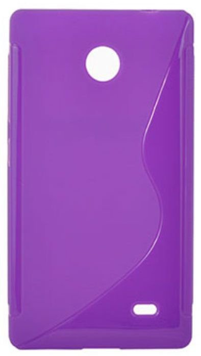 Telone Back Case S-Case for Nokia X / Dual Sim Violet