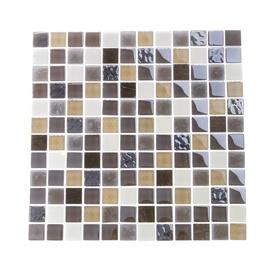 SN Mosaics BSH30 Brown/White 300x300mm